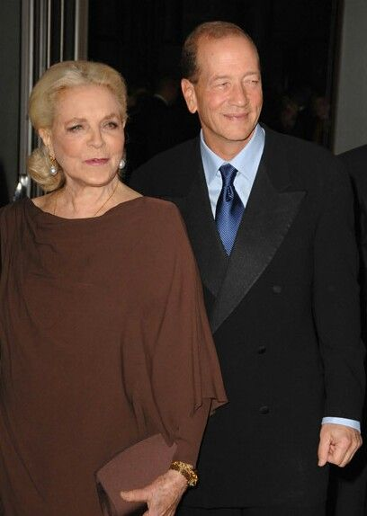 Lauren Bacall and son Stephen Bogart. He is his father's son.