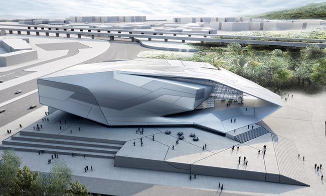 TOM WISCOMBE DESIGN - Chinese University of Hong Kong Arena