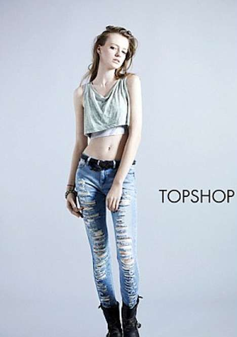 Hobo Chic Campaigns : Topshop Spring 2010 Denim
