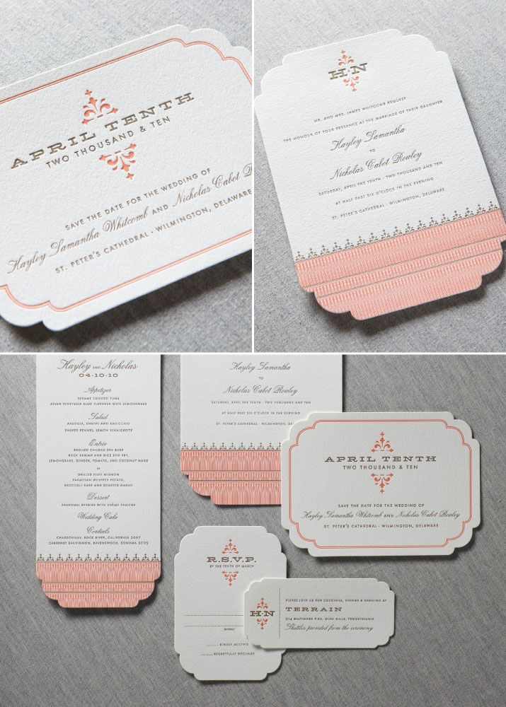 avery address labels wedding invitations%0A Occidental Suite from Dauphine Press   available at www coutureink com    Invitations   Pinterest   Traditional  Spotlight and Letterpress wedding