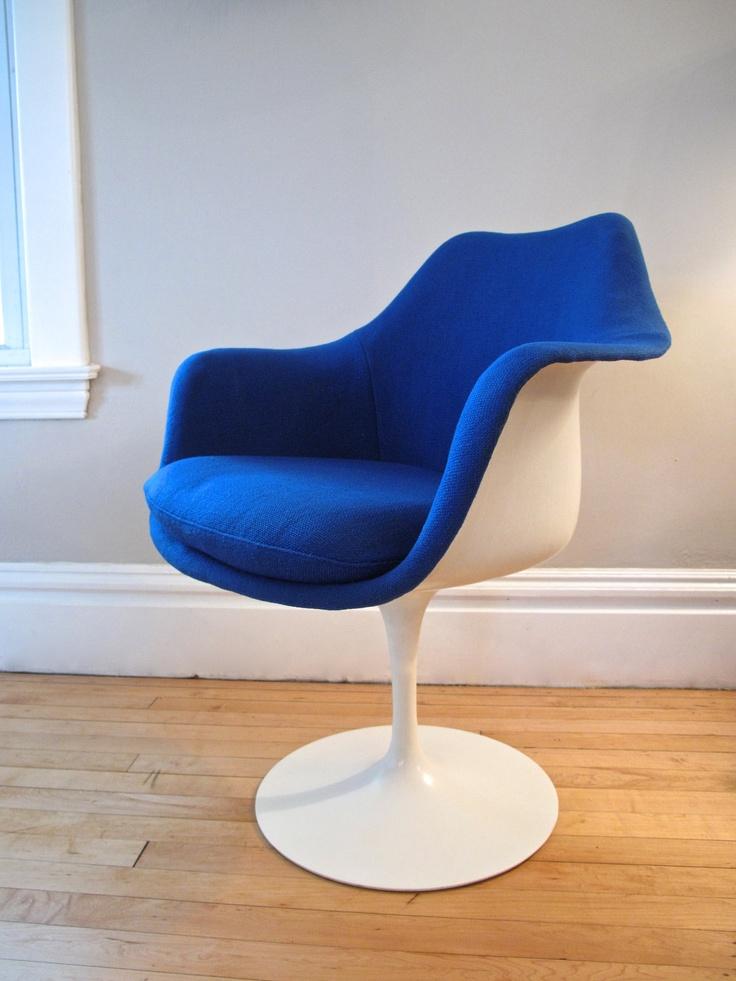 Original 1960's Knoll Saarinen Tulip Chair(s). $720.00, via Etsy.