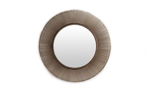 Coco Republic Dawn Mirror - Antique Brass