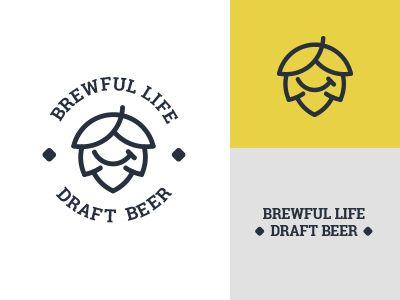 Brewful Life Craft Beer logo design