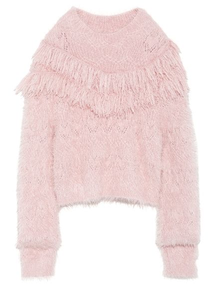 Pink and fluffy --
