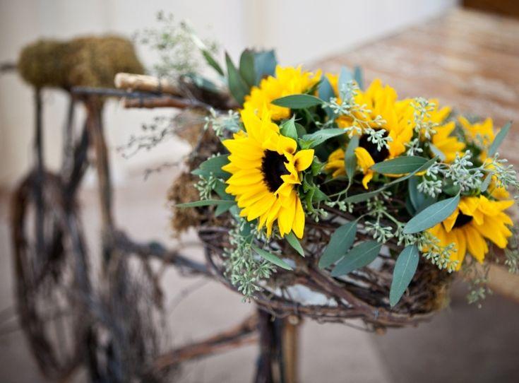 sunflower bike