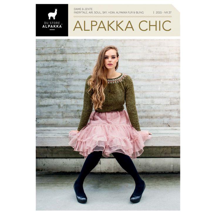 Strikkeoppskrifter på søte kjoler med volanger og fine mønster - Maskerader 37