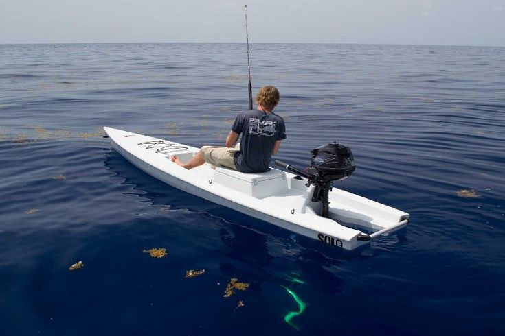 Solo skiff is the beginning of your one man fishing adventure for One man fishing boat