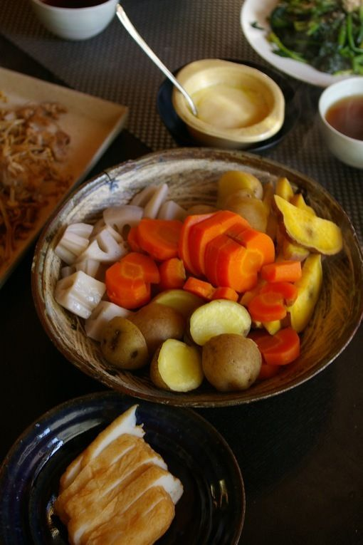 how to make japanese style vegetables