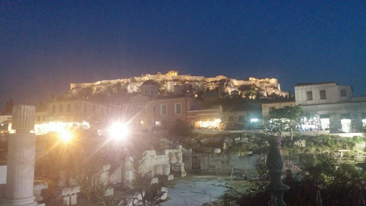 Night dream of the Acropolis