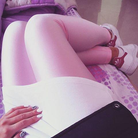 Baby pink shiny #pcpleggings  #pcpclothing #pcpinia