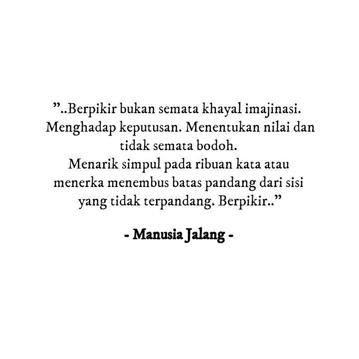 Cintai Budaya Sastra Indonesia. Bangga Sastra Indonesia.   Salam #ManusiaJalang   http://wp.me/p2gkao-7Q