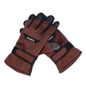 Tonsee® Bikes Riding Hommes Winter Sport de gants chauds pour le ski alpinisme (marron)
