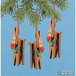clothespin crafts | ... the Red Nosed Reindeer: 5 Craft-Wrecks Using Clothespins | The Stir