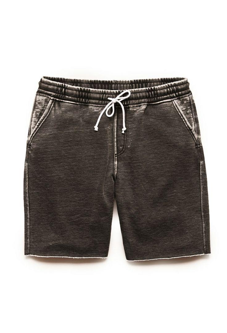 Burnout Fleece Shorts | 21 MEN #21Men