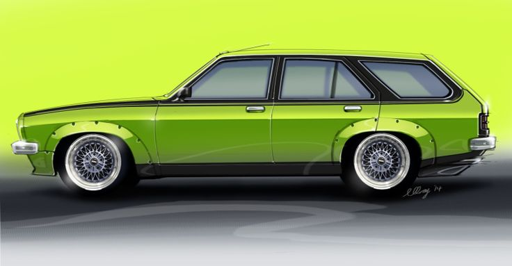 LH Torana Station Wagon - concept by Michael Gray Design