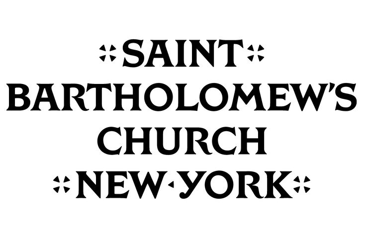 Typeface created as part of a new brand identity for Saint Bartholomew's Church designed by Original Champions of Design