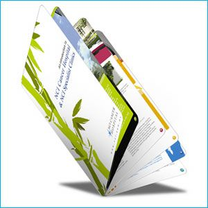 Our booklets are printed on your choice of paper stocks.  We offer the highest quality stocks available as well as budget stocks.