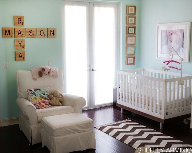 scrabble: Wall Colors, Wall Art, Idea, Names, Scrabble Tile, Twin Nurseries, Baby Rooms, Kids Rooms, Scrabble Letters