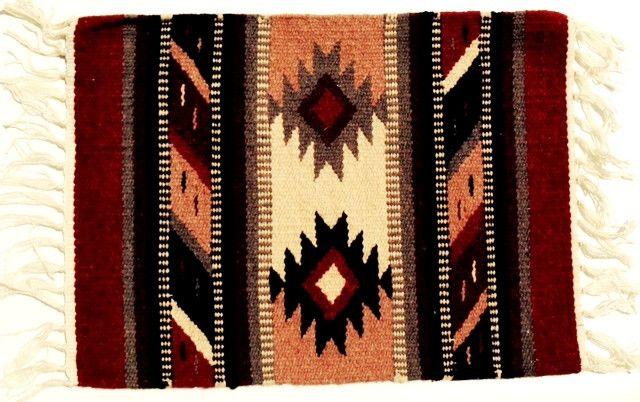 (EPHIM1520-8) Woolen Southwestern Placemat