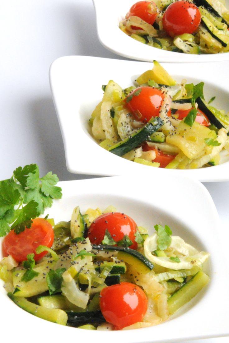 Édeskömény saláta -  Fennel Salad