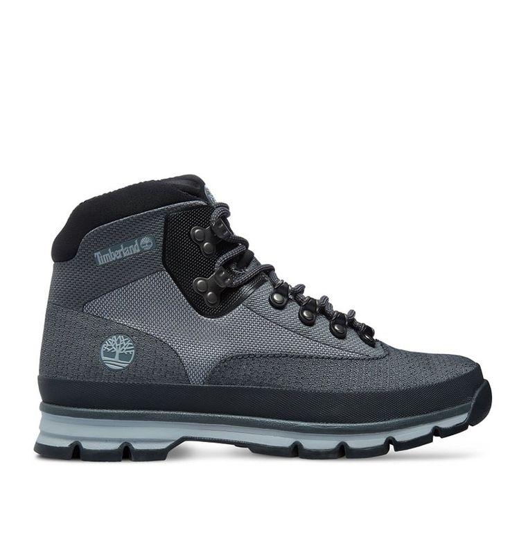 timberland euro brook mens hiker boots - black