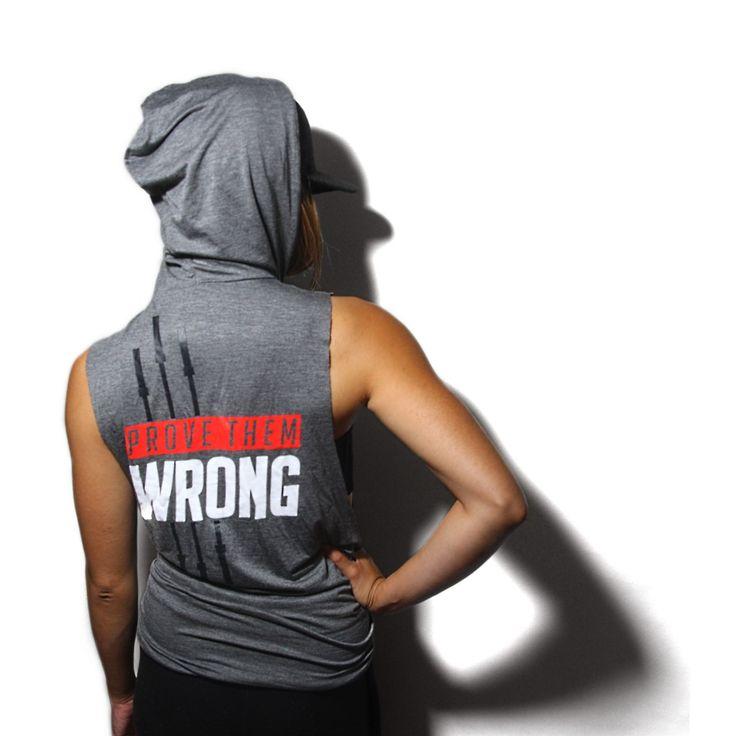 PROVE THEM WRONG SLEEVELESS HOODIE V2.0 WOMENS – Inner Beast Clothing