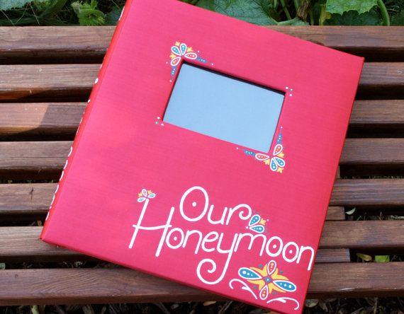 Custom Mediterranean Honeymoon Photo Album by QCreativeDesign, $75.00