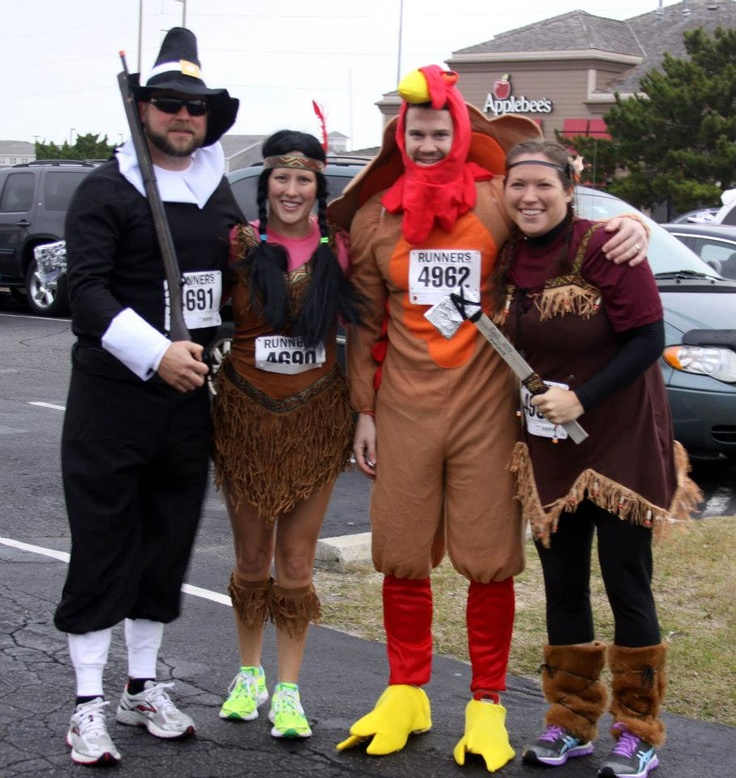 Thanksgiving Race Costumes Running clothes, Running