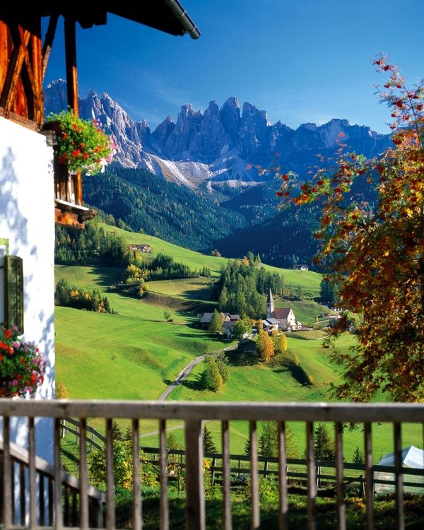 Santa Maddalena/St. Magdalena - Funes/Villnöss Valley-Bolzano.
