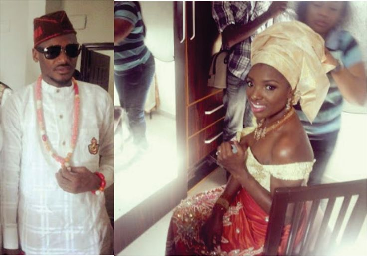 MRSHUSTLE VIDEO: 2FACE IDIBIA & ANNIE MACAULAY TRADITIONAL WEDDING