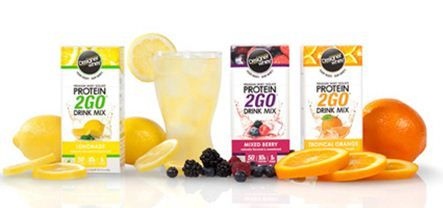Designer Whey Protein2Go mix is a great choice for some extra protein on that post-op clear liquid diet!