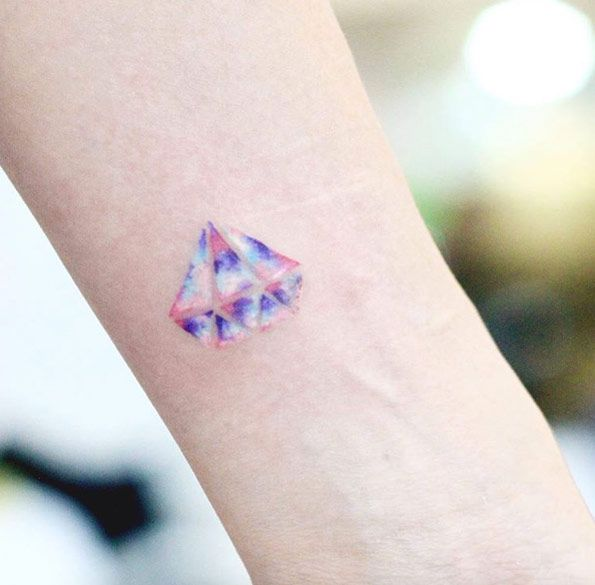 40+ Beautiful Tiny Wrist Tattoos For Women | Pastels and ...