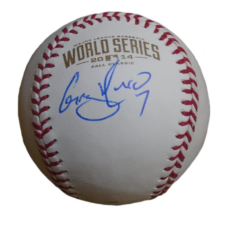 Gregor Blanco Autographed Rawlings 2014 World Series Official Game Baseball, Proof. Gregor Blanco Signed Rawlings 2014 World Series Official Game Baseball, San Francisco Giants, Proof   This is a brand-new Gregor Blanco autographed Rawlings 2014 World Series official league leather baseball. Gregor signed the baseball in blue ball point pen.Check out the photo of Gregor signing for us. ** Proof photo is included for free with purchase. Please click on images to enlarge. Please browse our…