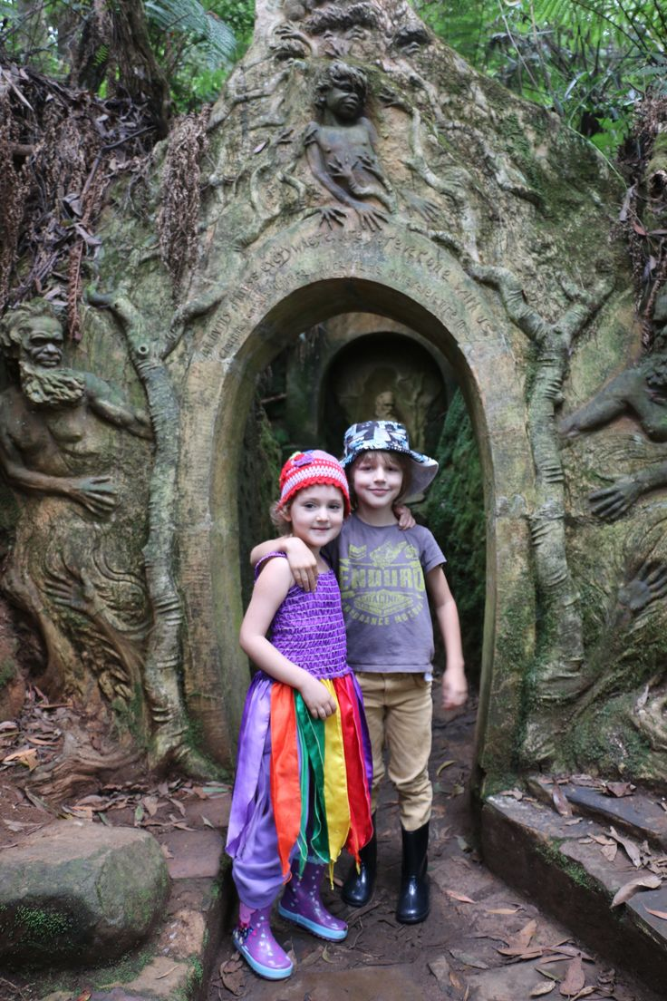 William Ricketts Sculpture garden Mt Dandenong VIC (and its free!) 2015
