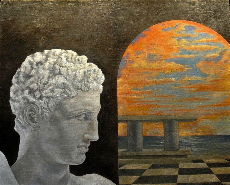 Federico Buzzi dipinge con intensità e guardando con afflato alla pittura figurativa del passato novecento italiano. Ammaliato dalle atmosfere sospese di Mario Sironi, da quelle metafisiche di Gior…