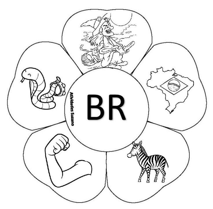 Bruxa, Brasil, zebra, braço, cobra      Cravo, crocodilo, micro-ondas, crachá, cruz.      Drogaria, padre, pedra, dragão, edred...