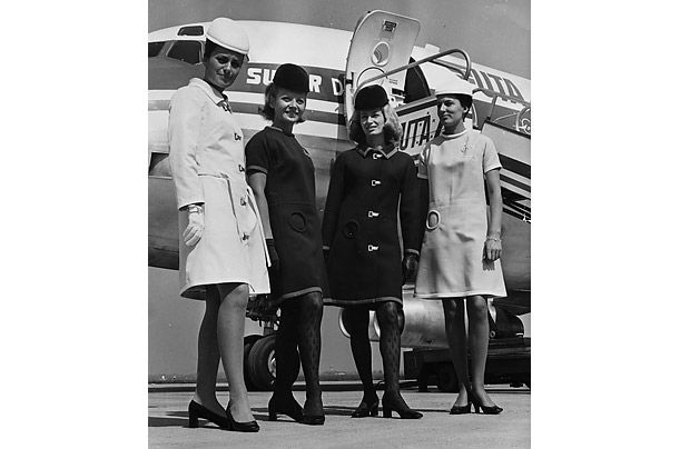 french airline designer - 60's a-line dresses and coats