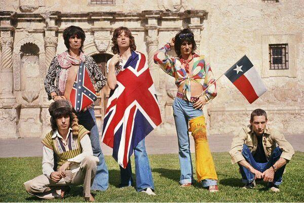 The Rolling Stones, Аламо, 1975 год.