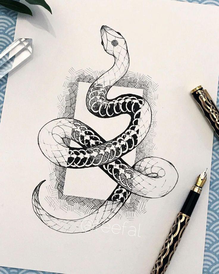 Snake Drawing Drawings Snake Art Pinterest – Snake Art Snake Drawing Snake Sketc…