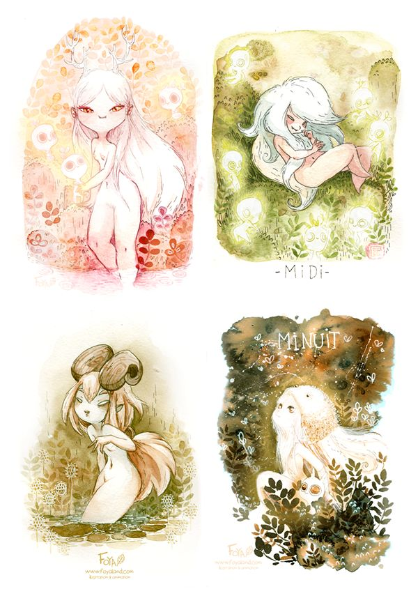 2014 Personal Paintings on Behance