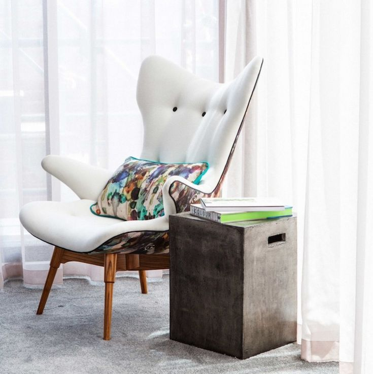 Australian Made Featherston Wing Chair Reproduction by Chair Candy as seen on The Block Fans vs Faves and The Block Shop | Channel 9