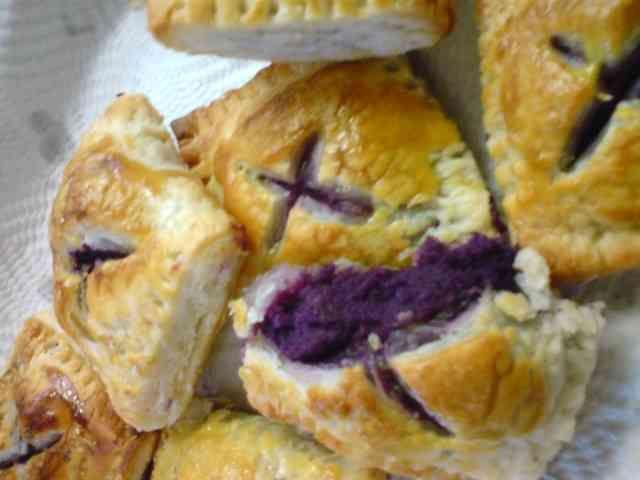 スウィート紫芋パイの画像
