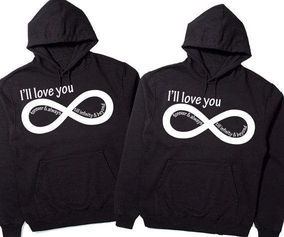 ill love you forever and always till infinity and beyond cute couples matching