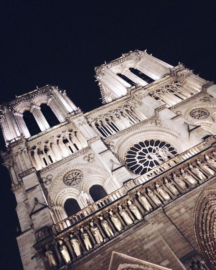 "Polubienia: 58, komentarze: 1 – Magda S (@mag_swiech) na Instagramie: ""#🌌#📷 #🇫🇷 #notredame #architecture #gothic #gothiccathedral #paris #ildelacite #archilovers…"""