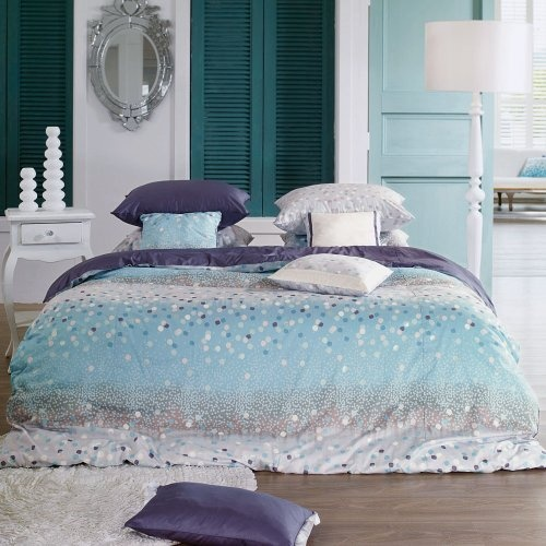 Sky Blue & Purple Snow Duvet Cover Set 820tc - King by Blooming Home Decor, http://www.amazon.com/dp/B007ZIFV18/ref=cm_sw_r_pi_dp_P3Baqb0G5WRXZ