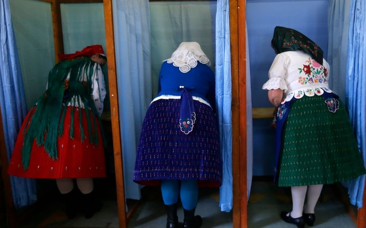 Voting in Veresegyhaz, Hungary, April 2014. (Laszlo Balogh / Courtesy Reuters)