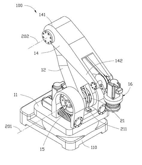 Патент US20120048047 - Robot arm system - Google Патенты