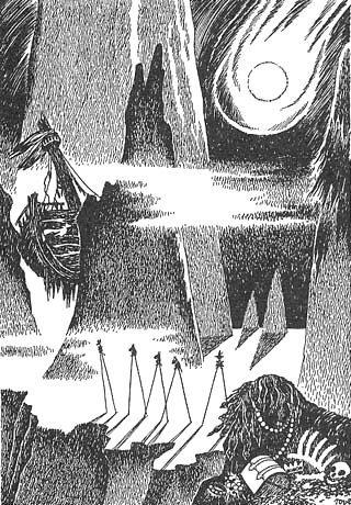 moomin ムーミン谷の彗星