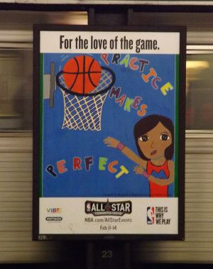 Kids' murals welcome NBA All-Stars. Outdoor Advertising recently displayed 60 murals painted by children and youth at 31 Toronto Transit Commission (TTC) subway stations as the city hosted the 2016 National Basketball Association (NBA) All-Star Weekend..