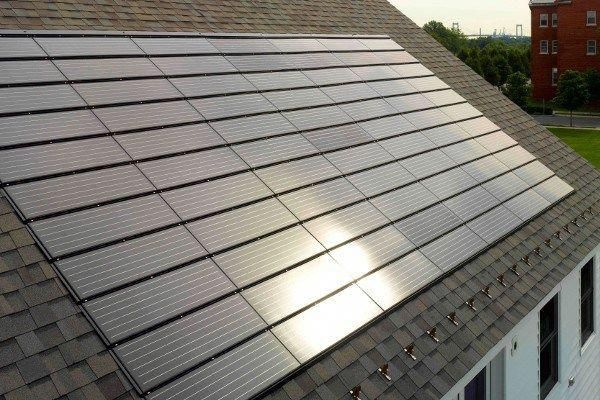 Pv Solar Shingles Roof From Tesla Evolution Of Solar Roofing Current Options Costs Roofing Calculator Est Solar Shingles Best Solar Panels Solar Panels
